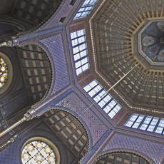 Rumbach Sebestyén utcai Zsinagóga (Forrás: zsinagogak.hu)