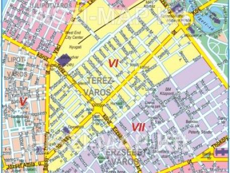 budapest térkép 5 kerület VII. kerület   Erzsébetváros | Mi mennyi idén januártól? budapest térkép 5 kerület