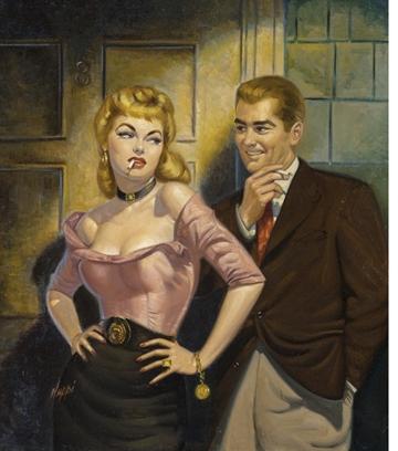 A kép csak illusztráció, Rudy Nappi könyvborítója, forrás: artnet