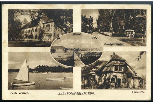 A képeslap a negyvenes évekből van, a helytortenet.webshopon találtuk