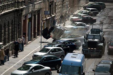Aggodalomra semmi ok, a kép a Die hard 2012-es forgatásán készült :D