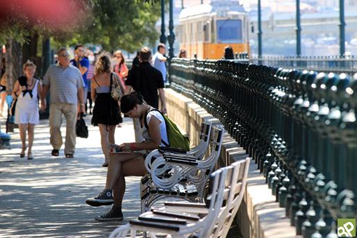 Ez itt a Duna-korzó, ami nem lesz lezárva, sétáljatok, fotó: budapestcity