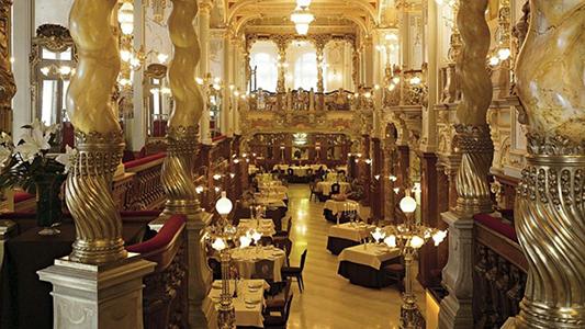 Hungária kávéház és étterem, Hotel Boscolo. Fotó: welovebudapest
