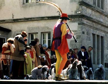 A hamelni patkányfogó, utcamese