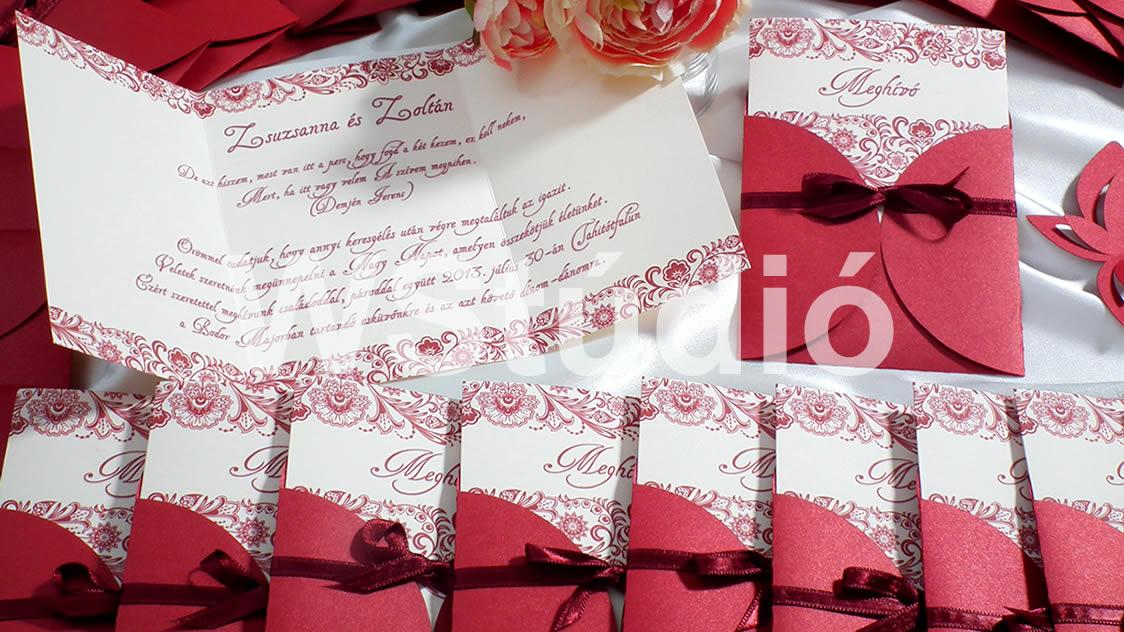 cbc5997013 VII. kerület - Erzsébetváros   Webalbum Stúdió Kft. - esküvői meghívók